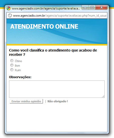atendimento online, suporte online, departamentos, filezilla, contato online, atendentes online