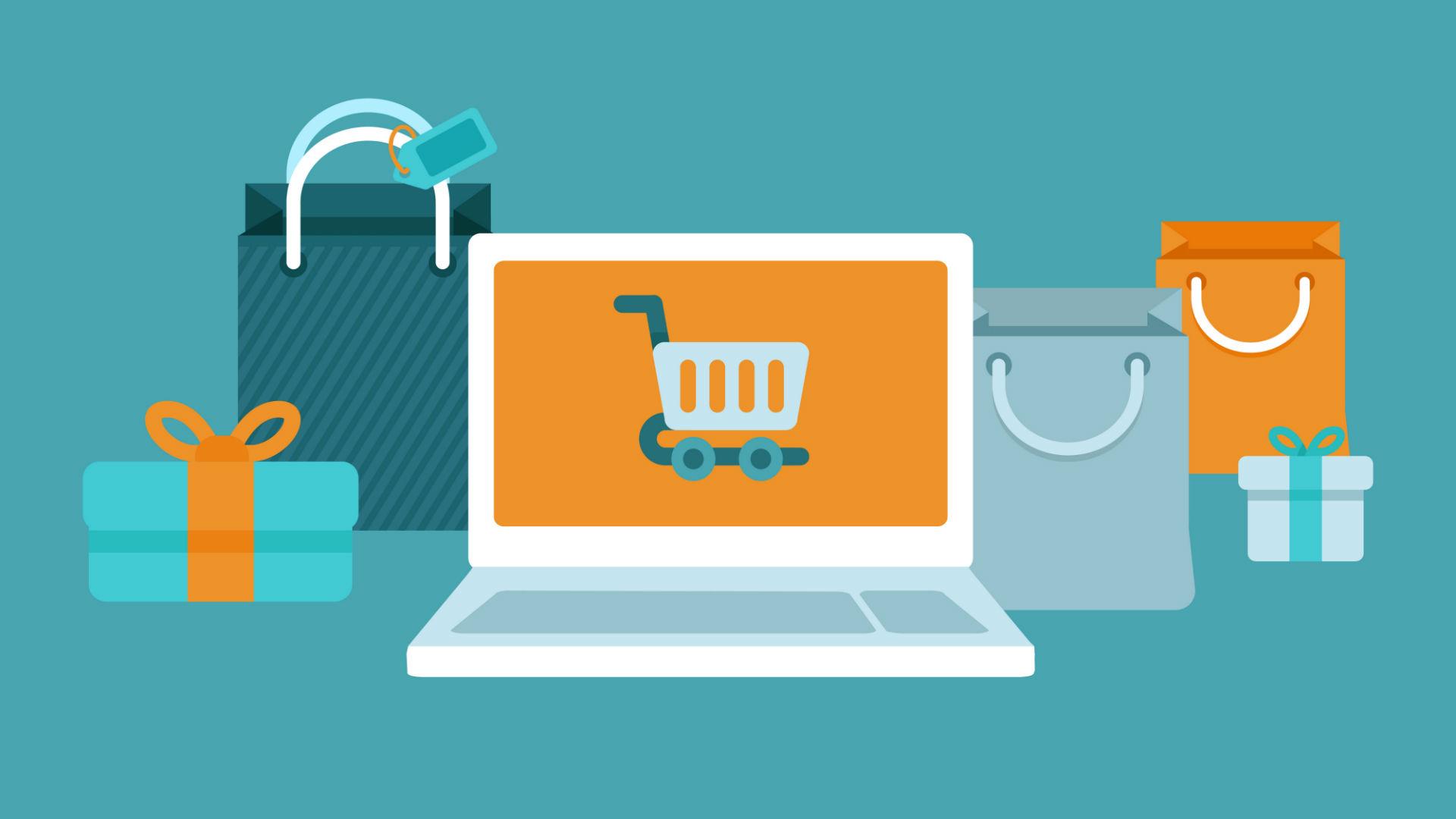 Ecommerce shopping - loja online - comercio eletronico - setores