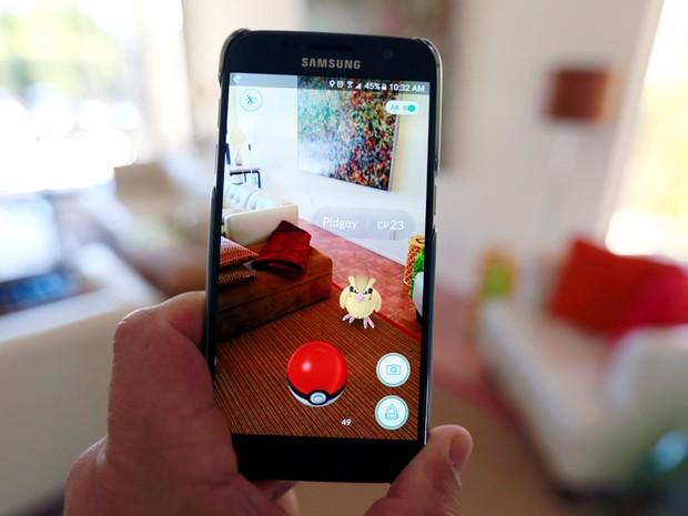 Pokemon Go - Nintendo - Realidade aumentada