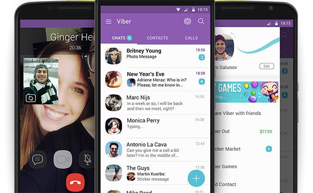 Aplicativo de Video Conferência e Chamada Viber